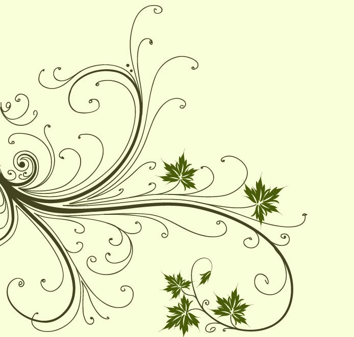 20 Graphic Floral Swirl Images