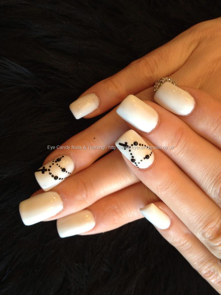 13 Cross Acrylic Nail Designs Images