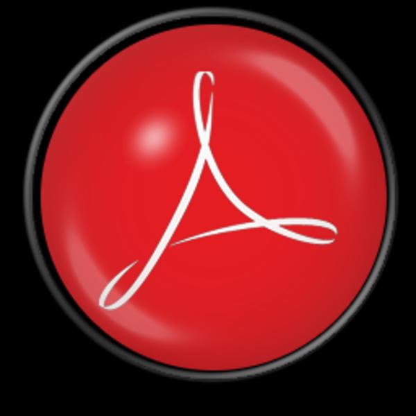 14 Adobe Icon Windows 8 Images: 14 Adobe PDF Icon Large Images