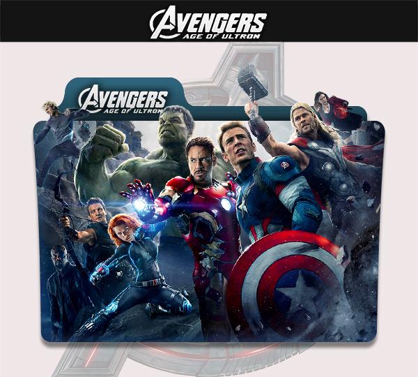 6 Avengers Folder Icon Images