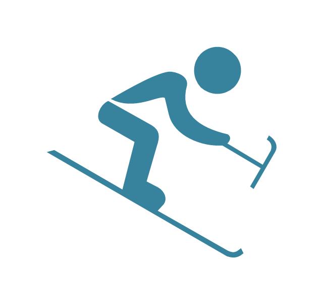 Alpine Skiing Symbol