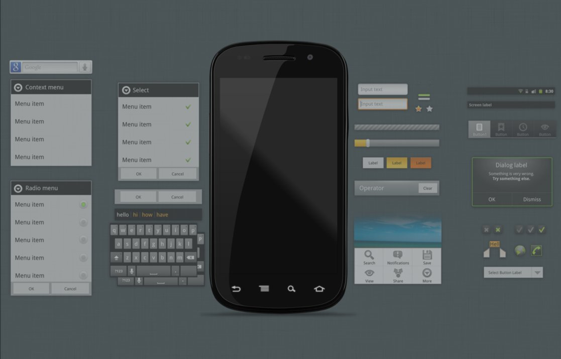 11 Android Phone PSD Template Images