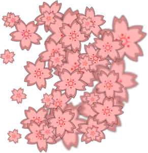Asian Flower Clip Art
