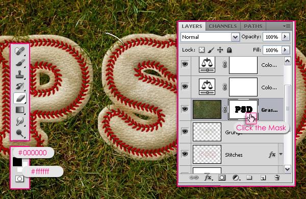 Baseball Photoshop Effects