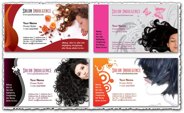 8 Beauty Shop PSD Templates Photoshop Images