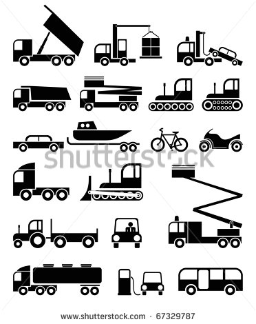 12 Black And White Vector Construction Tools Images