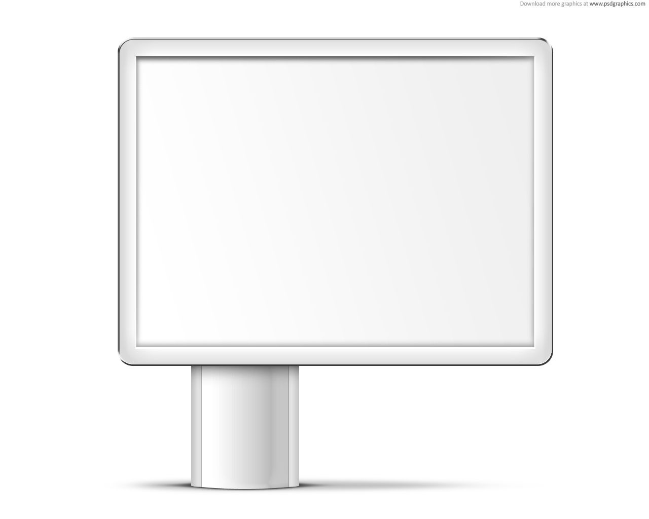 blank sign templates