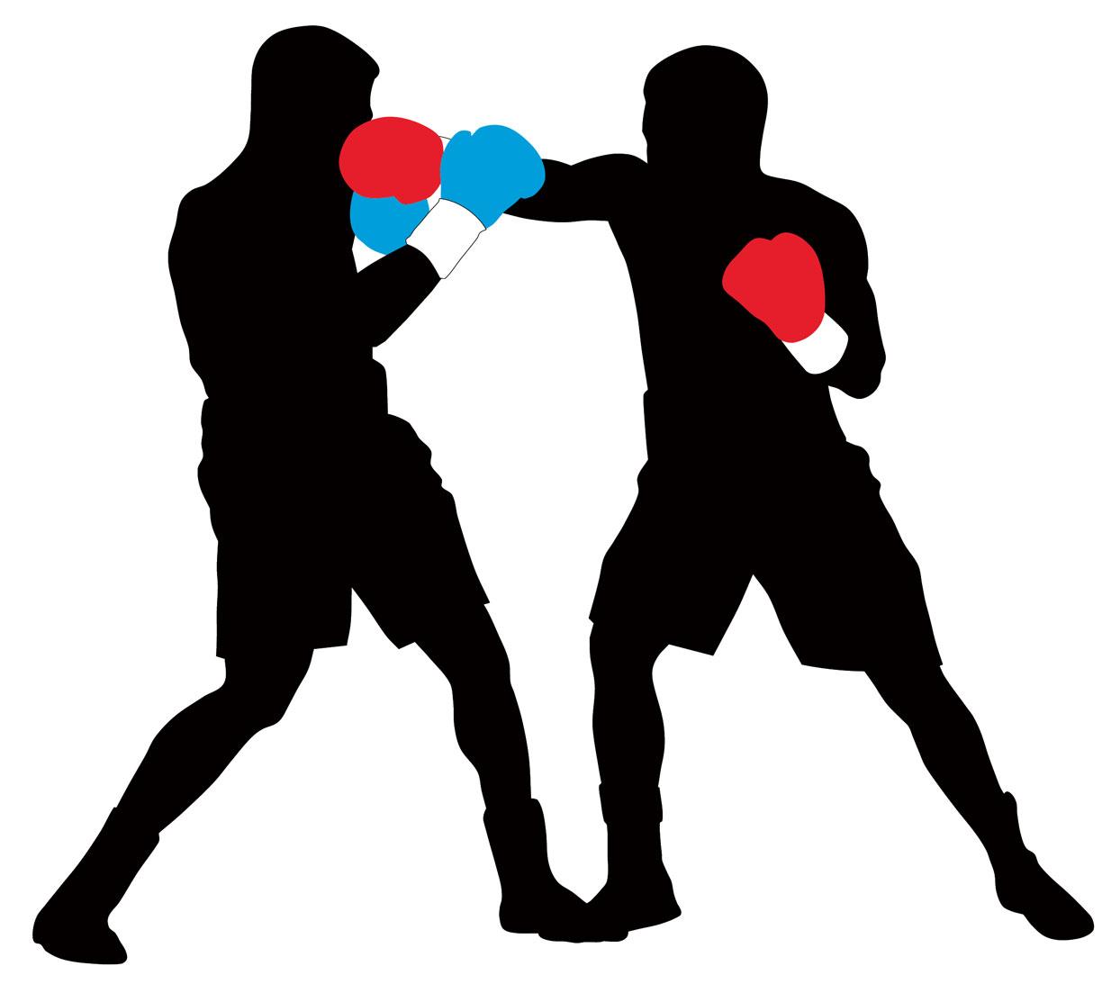 Boxing Silhouette Clip Art