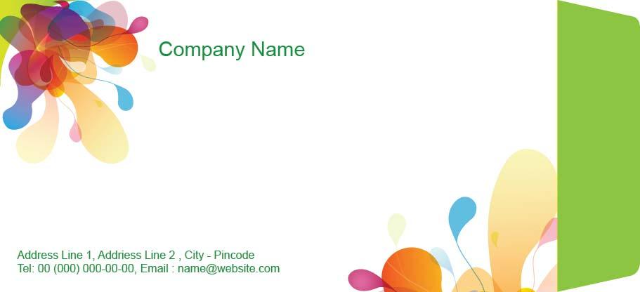 Business Envelope Design Template