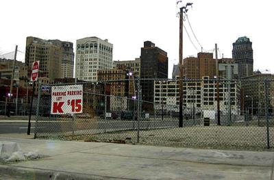 Cartoon City Backdrop