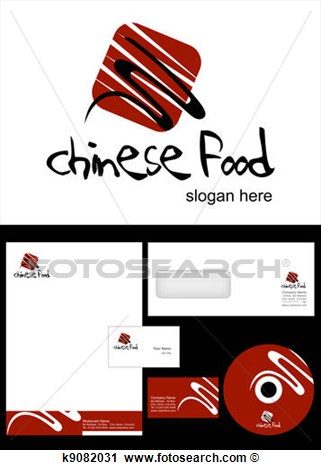 Chinese Food Clip Art Logo