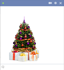 12 Christmas Tree Emoticon For Facebook Images
