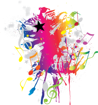 16 Abstract Music Design Images - Abstract Music Notes ...