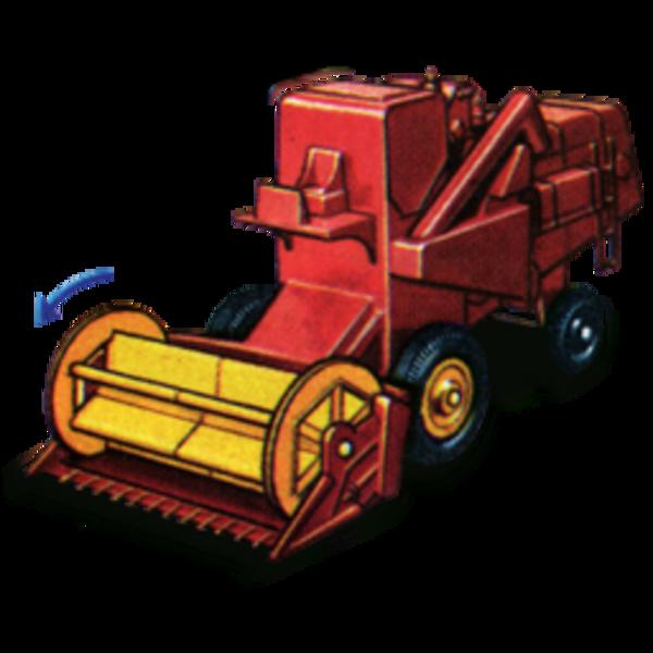 Combine Harvester Clip Art
