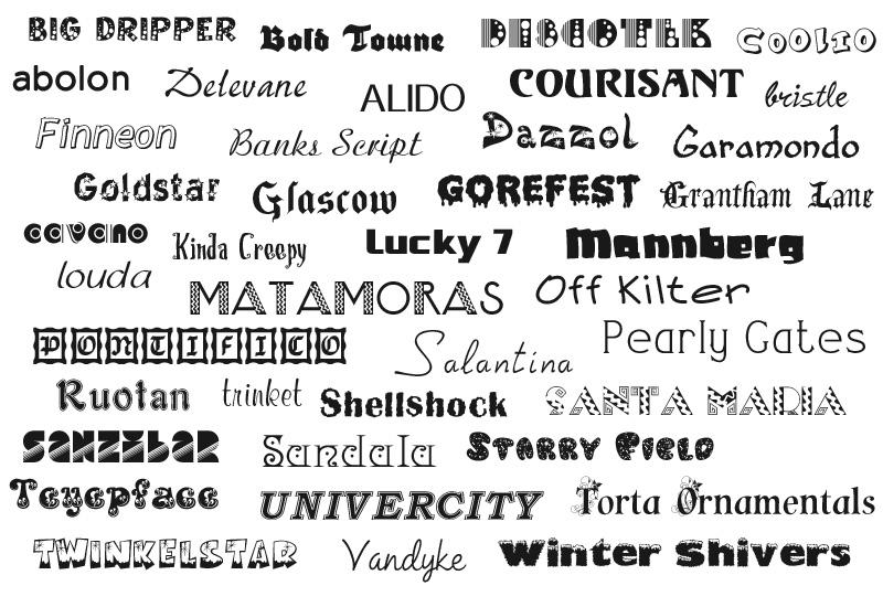 Cool Fonts Microsoft Word
