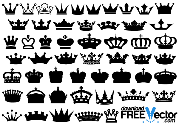 13 Crown Vector Free Download Images