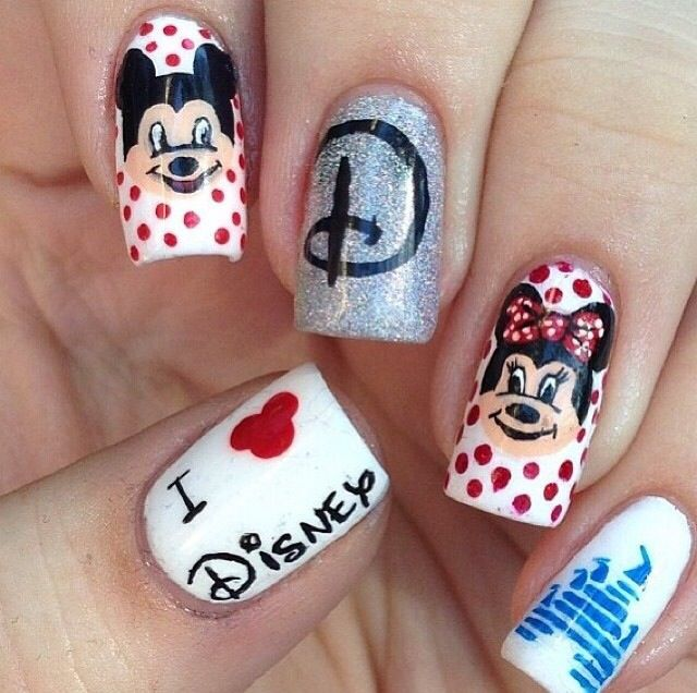 13 Disney Nail Designs Images