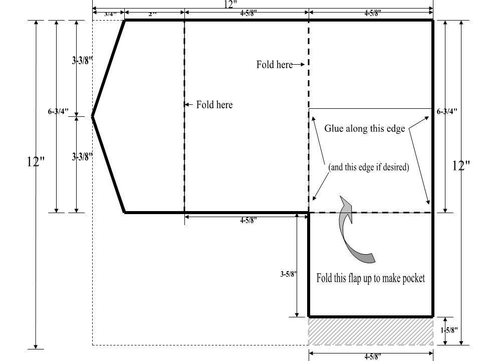 DIY Pocket Fold Wedding Invitation Template