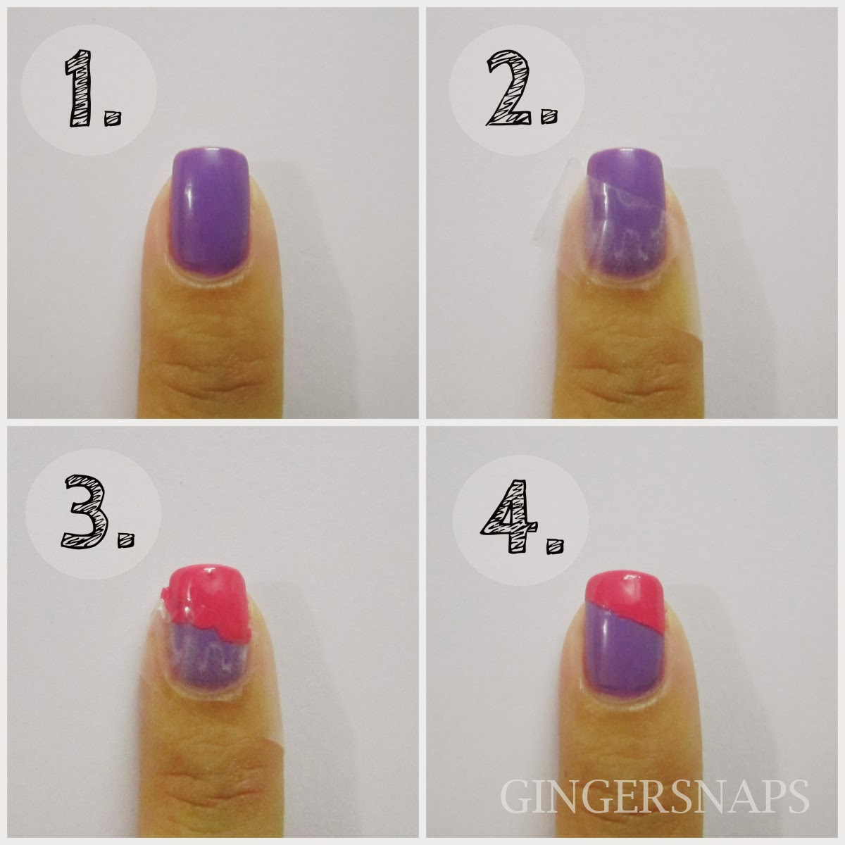 16 Easy Step By Step Nail Designs For Beginners Images