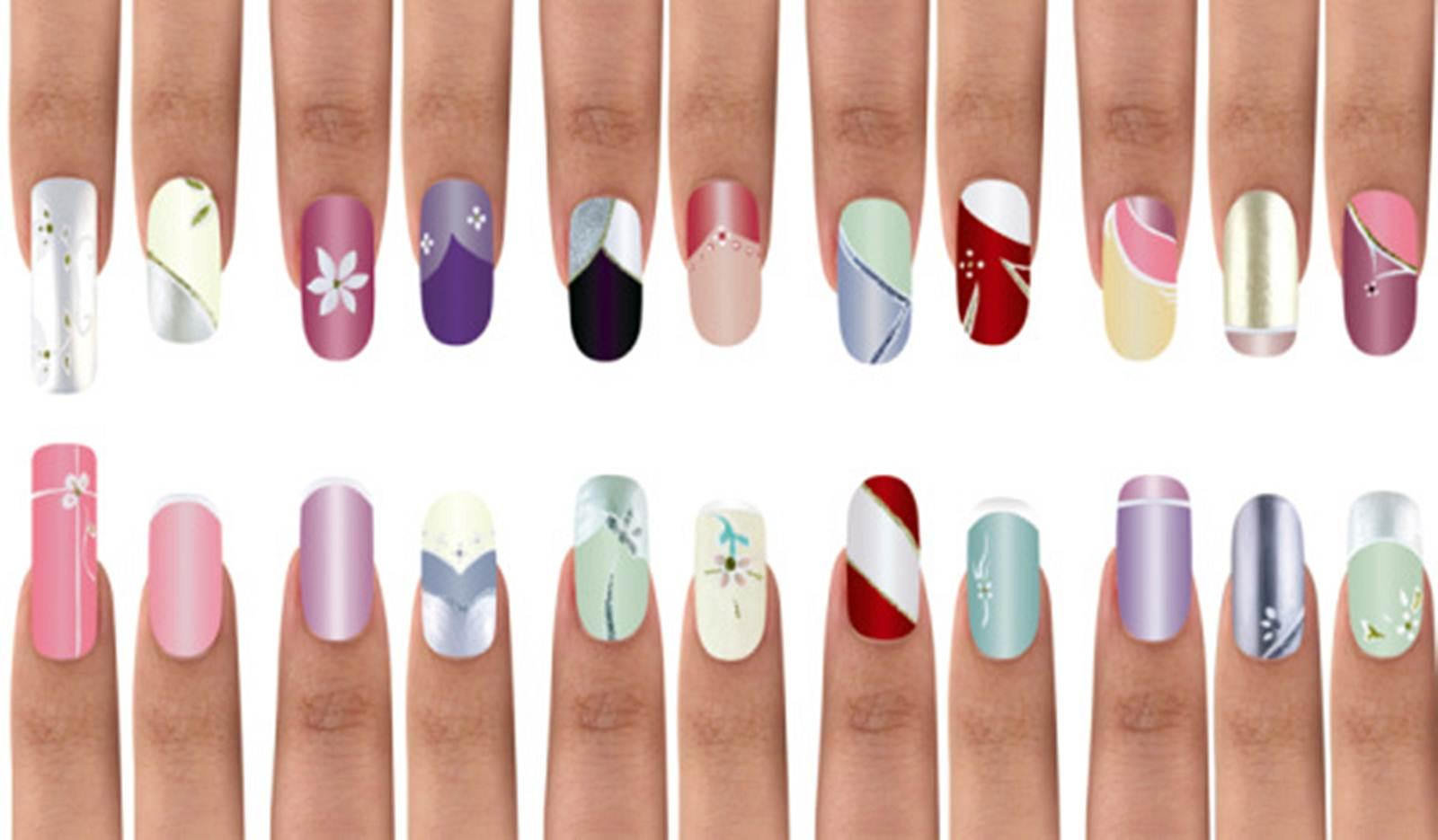 Красивые рисунки на своих ногтях в домашних условиях