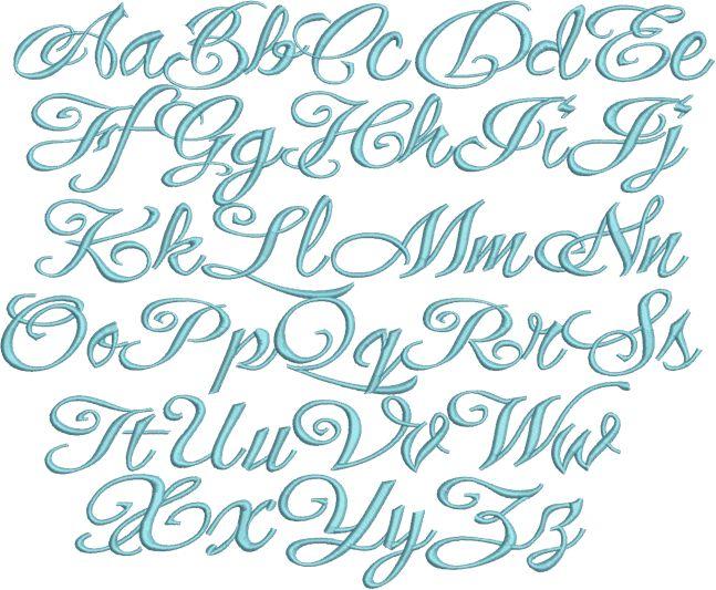 Elegant Script Font Ellison