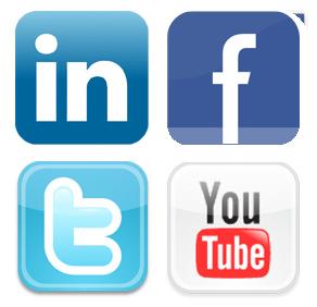 Facebook Twitter Instagram LinkedIn YouTube Logo