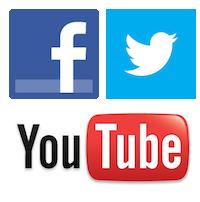 Facebook Twitter YouTube Logo