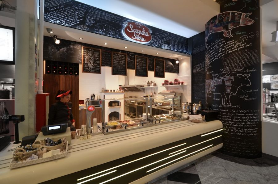 13 Fast Food Restaurant Design Images