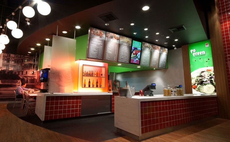 Fast food restaurant design images