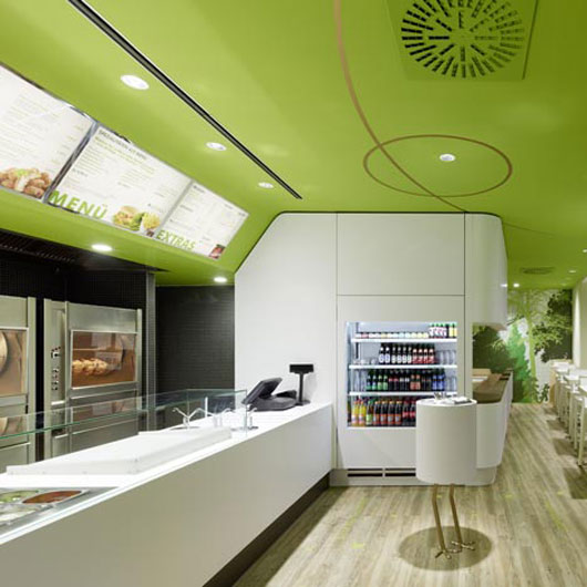 Fast Food Restaurant Interior Design