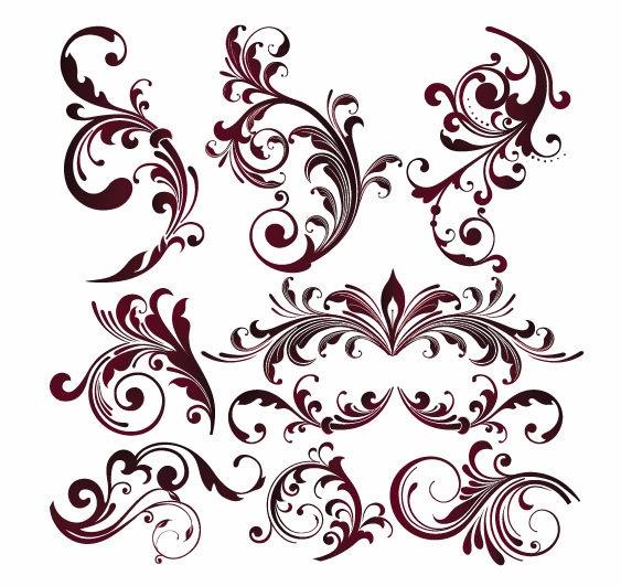 17 Vector Flower Designs Images
