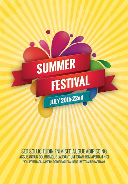 9 Festival Vector Sun Template Images