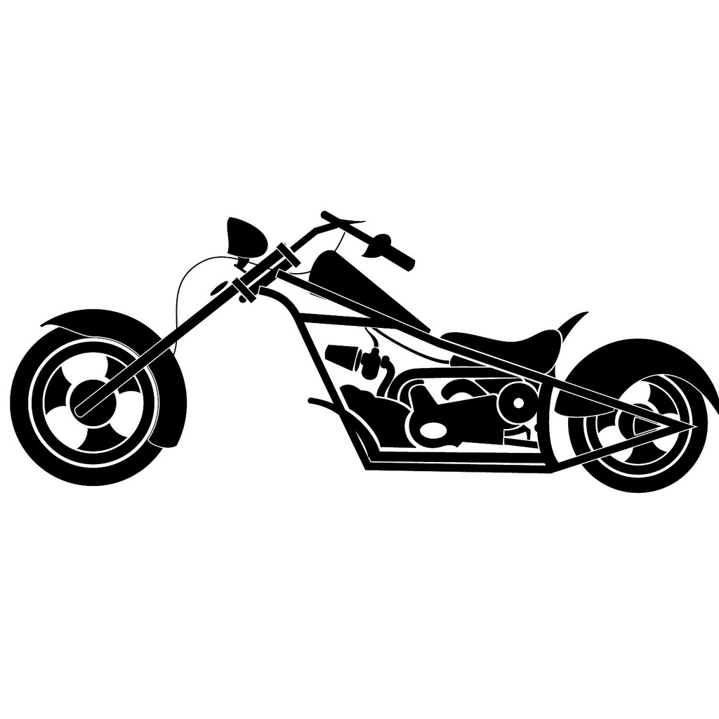 14 motorcycle vector graphics clip art images