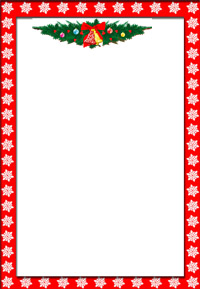 graphic regarding Christmas Templates Free Printable named 19 Cost-free Printable Xmas Letter Templates Shots - Totally free