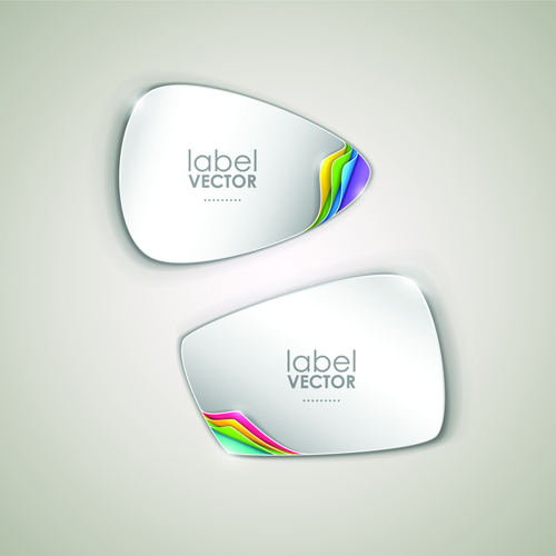 Free Shiny Vector Label