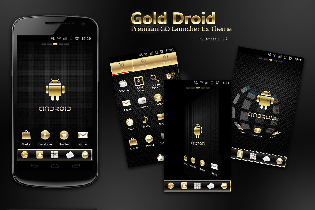 Gmail live themes - Phone Free Themes For Android Phone 5 Android Theme Icons Rose Gold Images Themes Free For