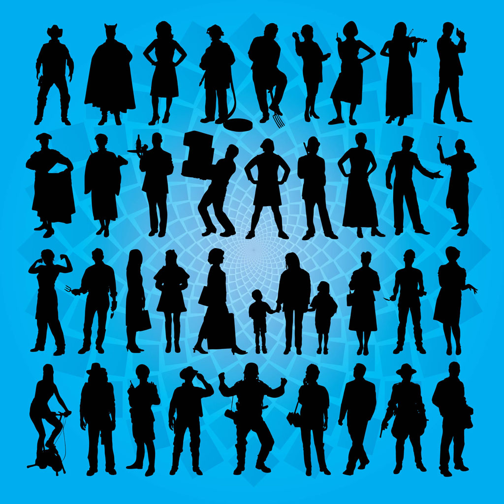 Free Vector Art People