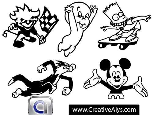 Free Vector Cartoon Characters