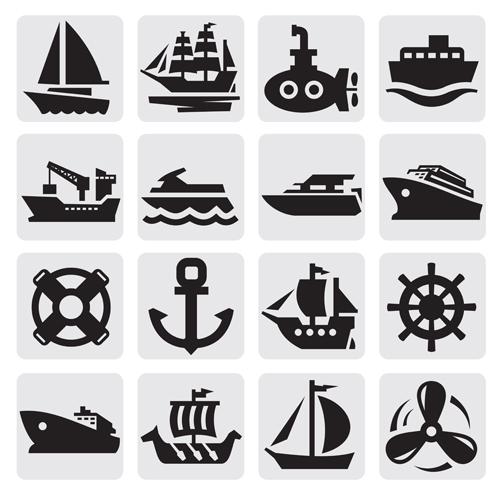 Free Vector Transportation Icons