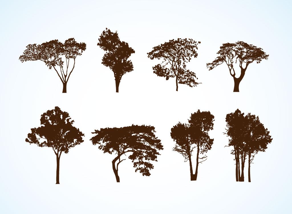 Free Vector Trees