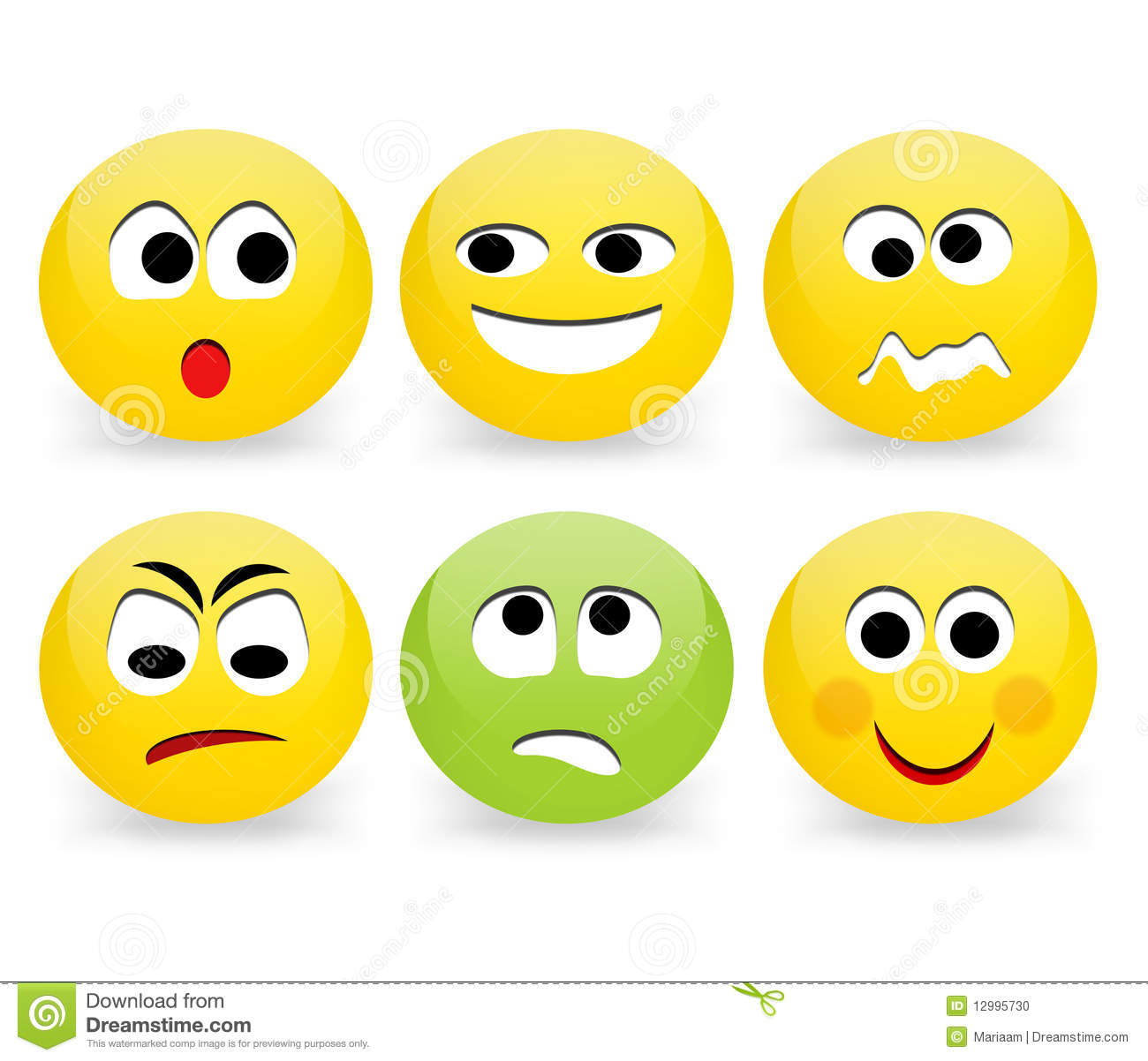 Funny Face Emoticon