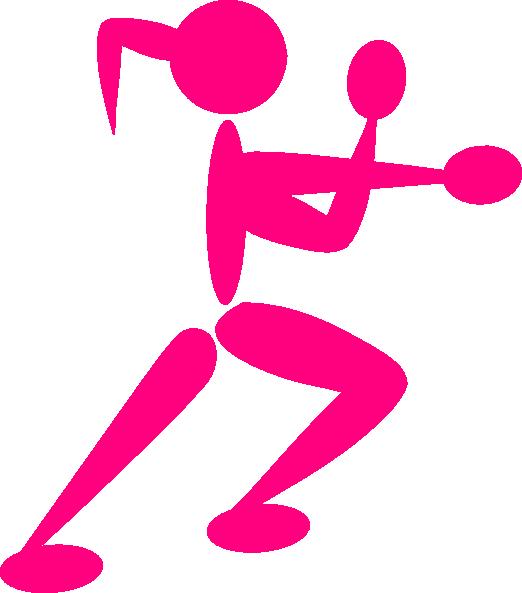 Girl Boxing Gloves Clip Art