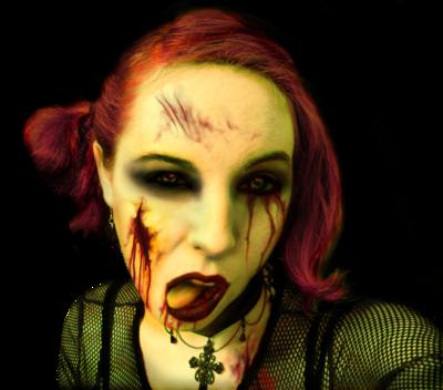 Girl Zombie PSD