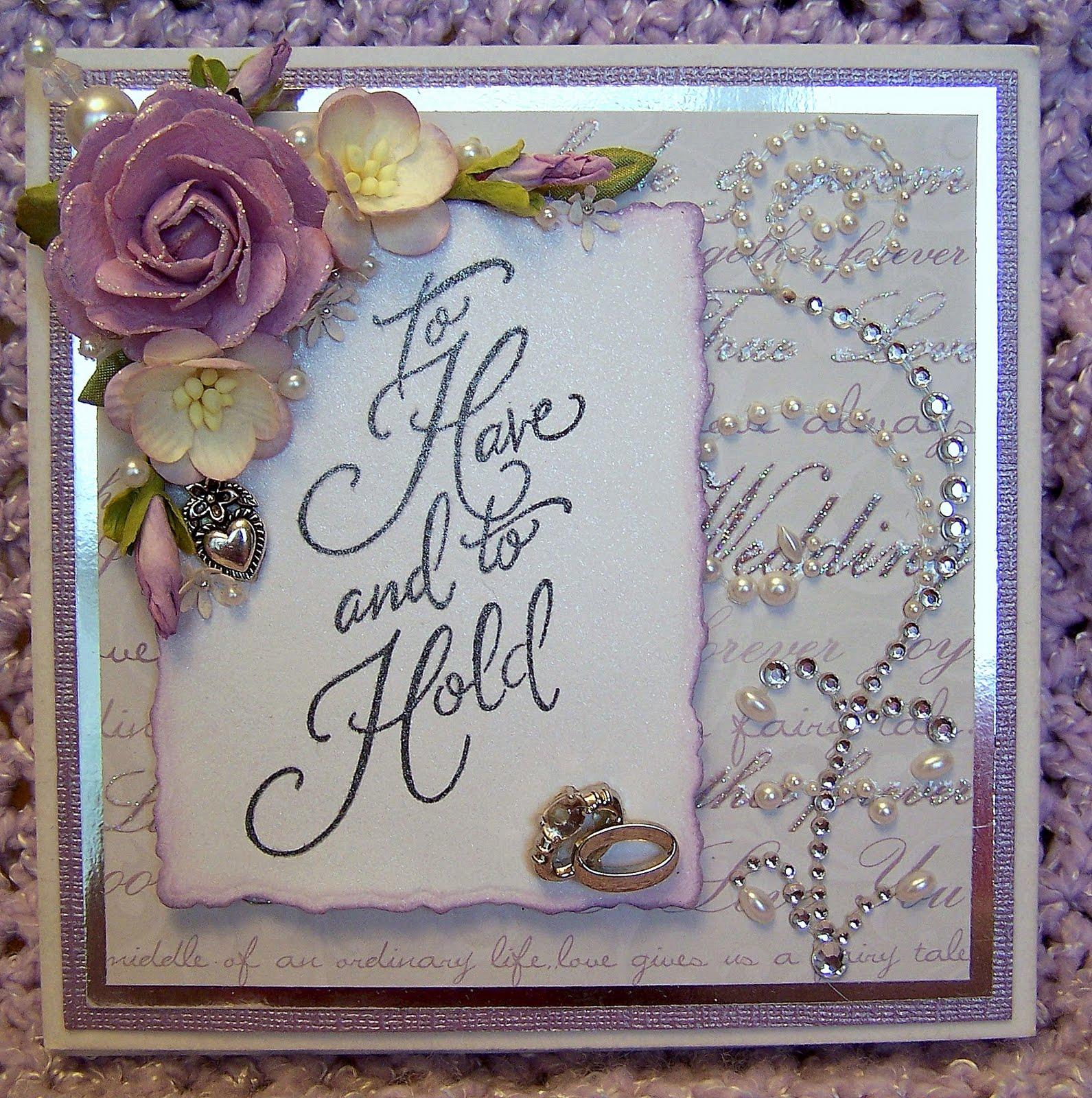 13 Homemade Wedding Cards Design Images - Handmade Wedding ...