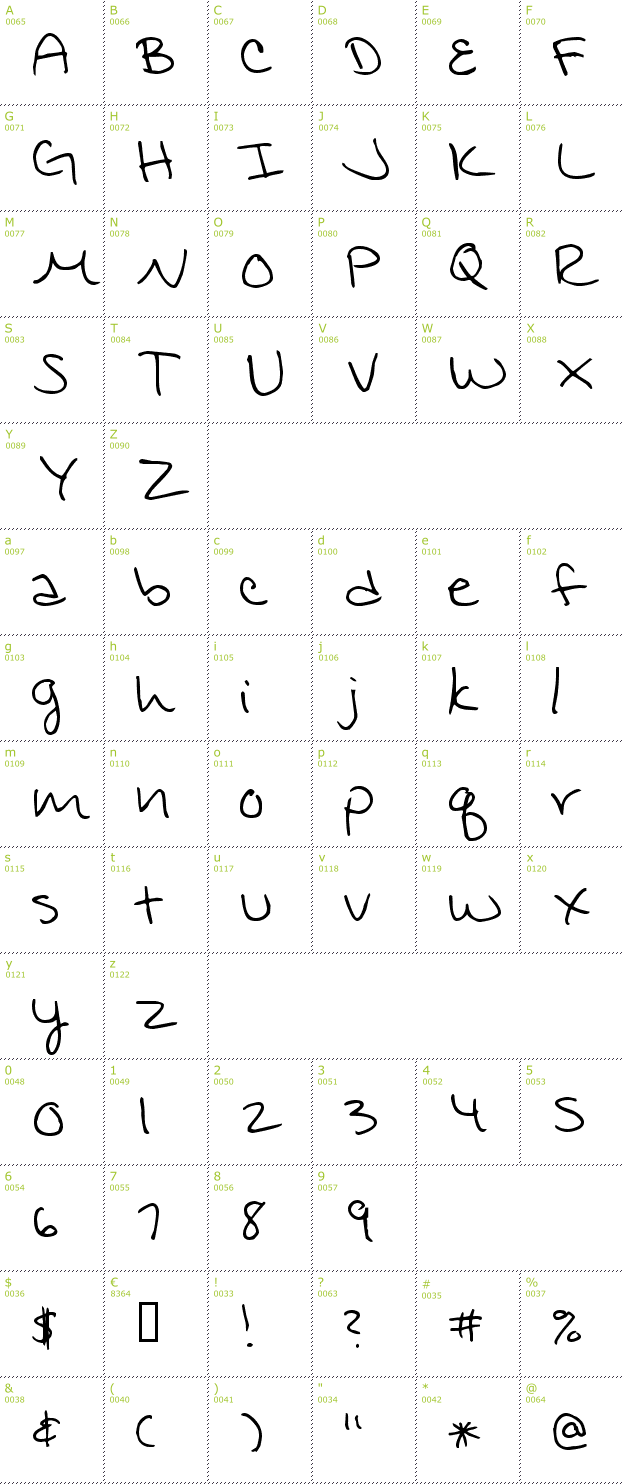 Handwriting Writing Fonts