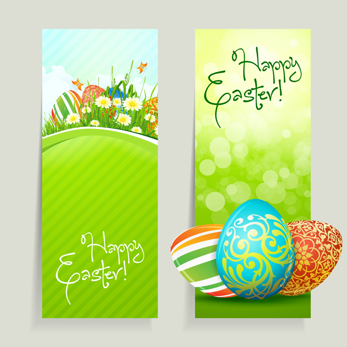 Happy Easter Vector Free