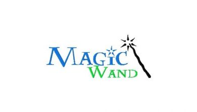 13 Magic Wand Embroidery Font Images