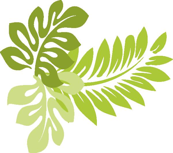 15 Hawaii Leaf Vector Clip Art Images