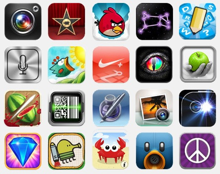 iPhone App Icons Printable