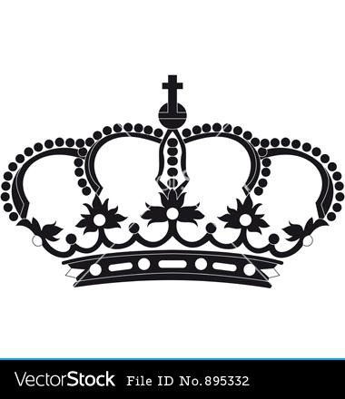 King Crown Design Vector